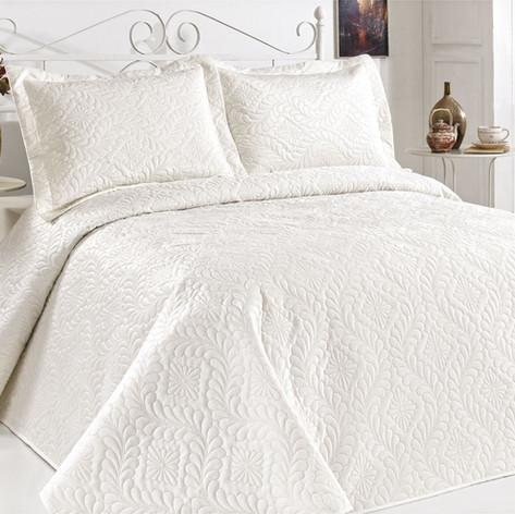 Velour Bedspread Set W