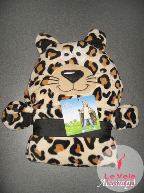 Детско халатче/одеяло Леопардче