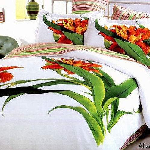 Спален комплект памучен сатен ALIZA