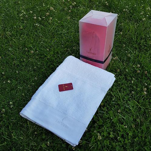Памучна хавлиена кърпа /Le Vele  Zero Twist White