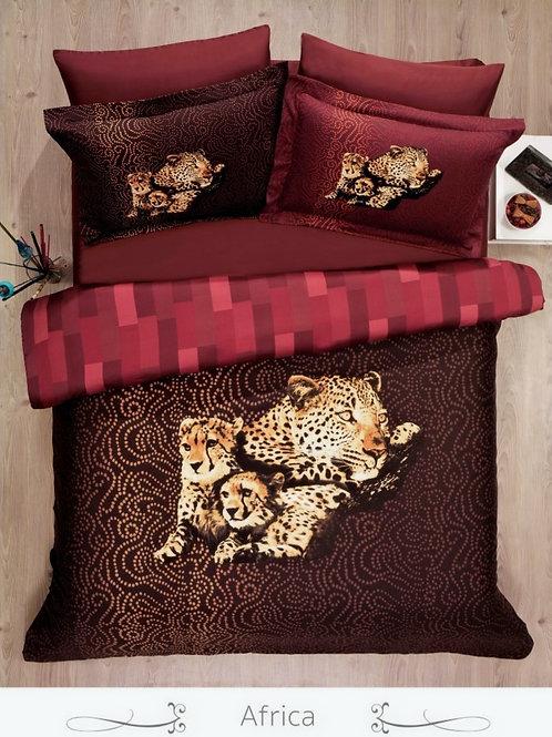 Cпален  комплект памучен сатен/ Le Vele Spring AFRICA
