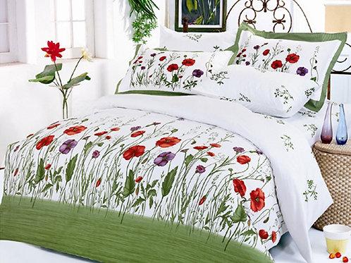 Спален комплект памучен сатен GARDEN