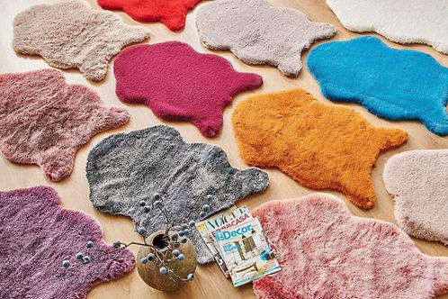 Rabbit fure mat (imitation)