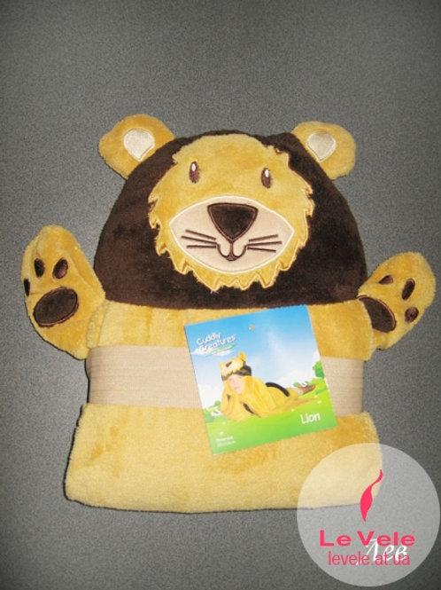 Детско халатче/одеяло Лъвче