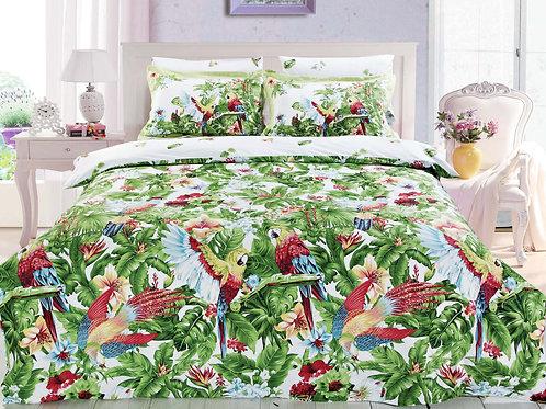 Cпален  комплект памучен сатен/Le Vele Perge Exclusive  Bed Set