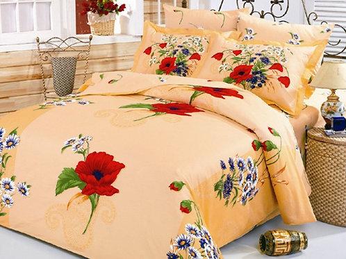 Спален комплект памучен сатен DAISY