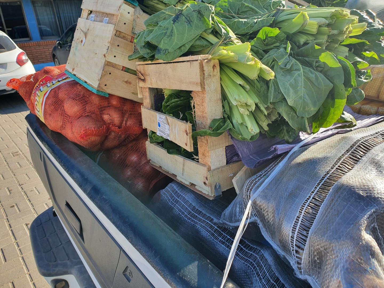 Nueva entrega de alimentos a comedores y merenderos
