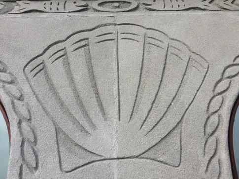 Minack shell wall decoration
