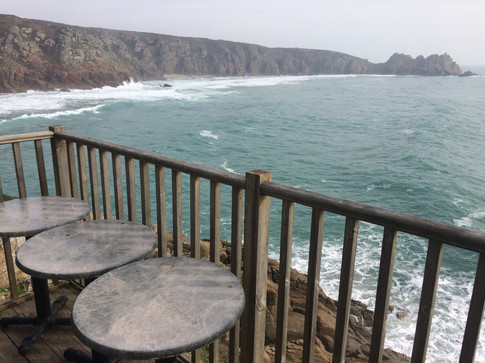 View from Minack dressing room balcony