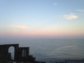 Minack evening sky