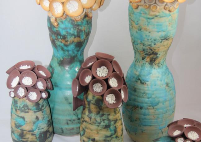 Fleurs de mer et cocons