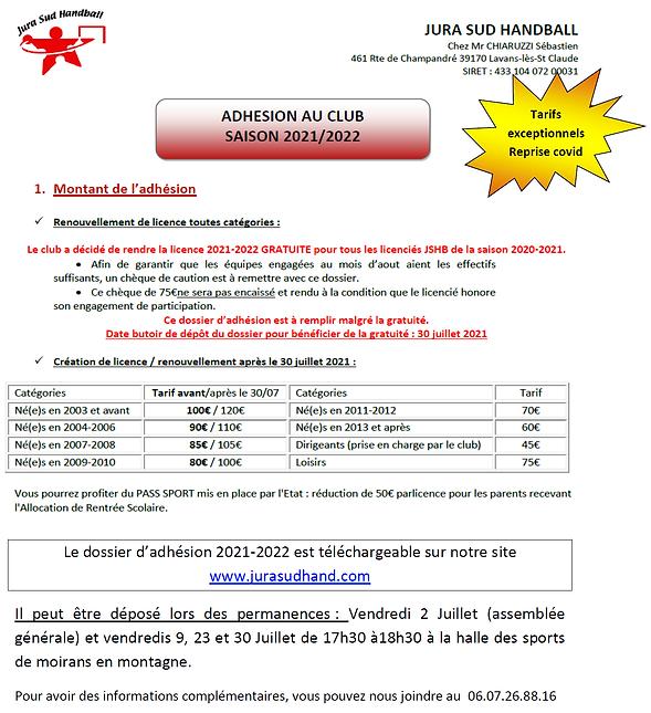tarifs licences 2021-2022.bmp