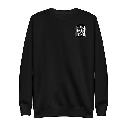 Raw With Love Unisex Fleece Pullover