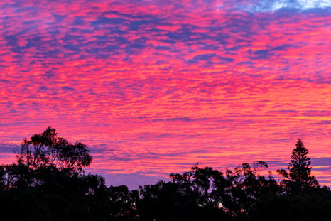 Kalbarri Sunset Sky