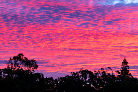 Kalbarri Sunset Sky