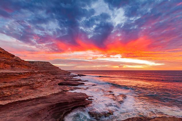 Eagle Gorge Sunset
