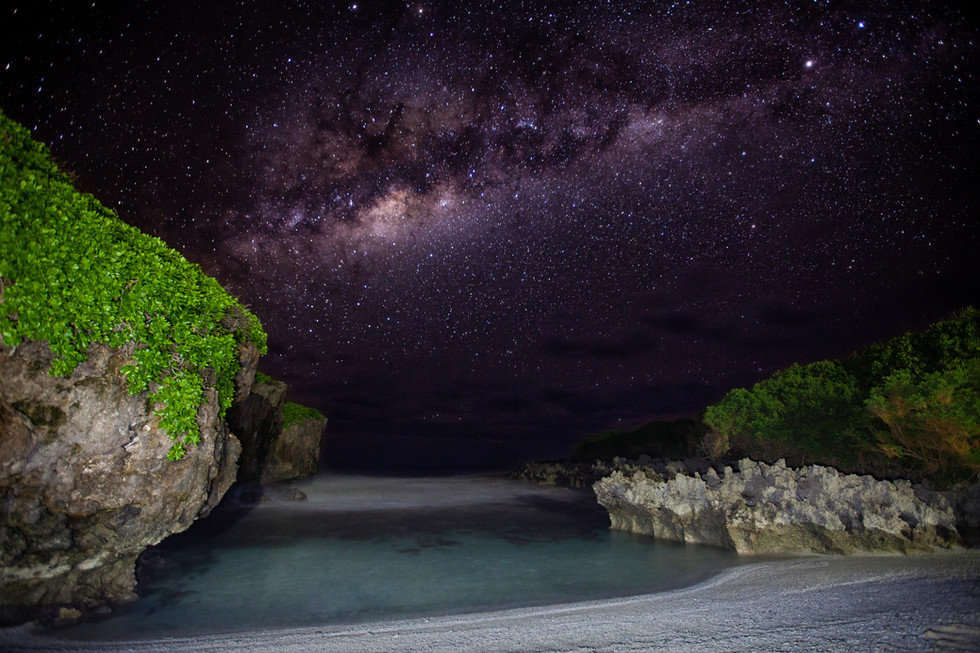 Lily Beach Milky Way