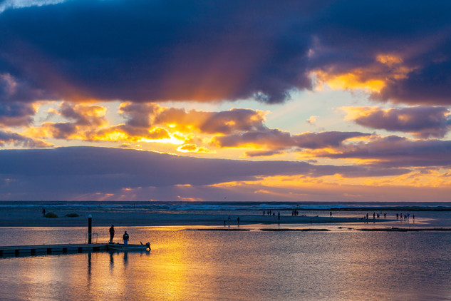 Kalbarri Jetty Sunset