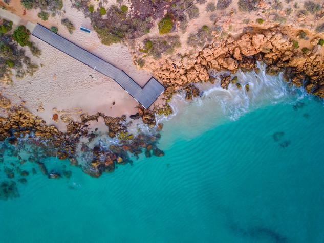 Chinaman's Beach Jetty, Kalbarri