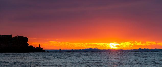 Chinaman's Point Silhouette Sunset