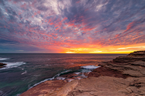 Sunset from the Cliffs