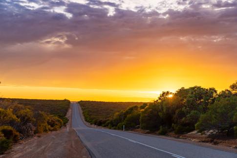 Meanarra Hill Road Sunrise