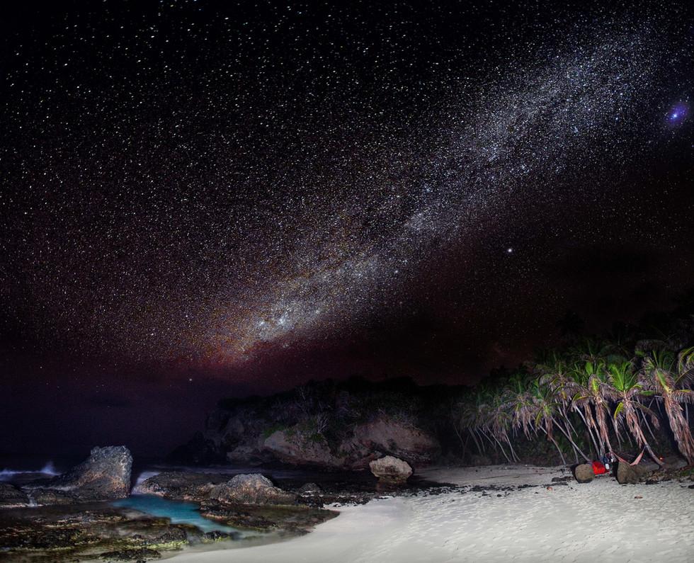 Dolly Beach Milky Way