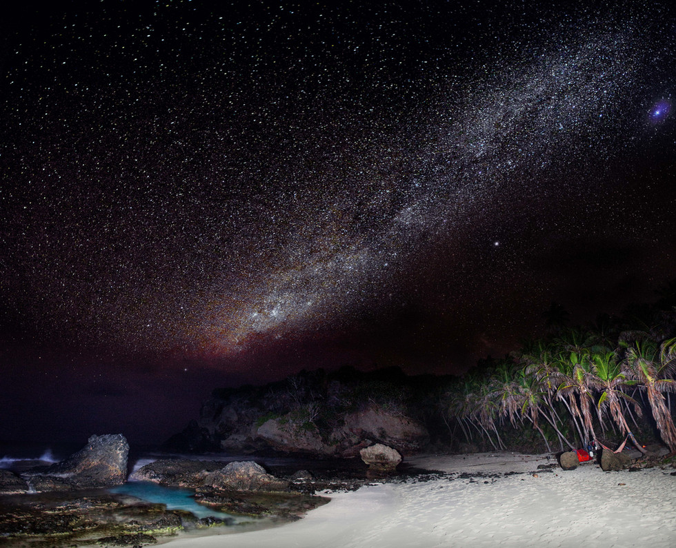 Dolly Beach Milky Way