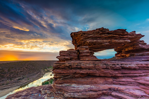 Nature's Window Sunrise