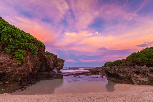 Lily Beach Sunset