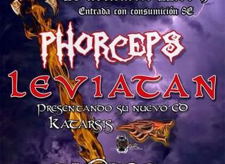 Phorceps en la sala Excalibur de Alcorcón