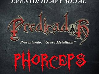 Phorceps en el Madrid Cultura Rock.