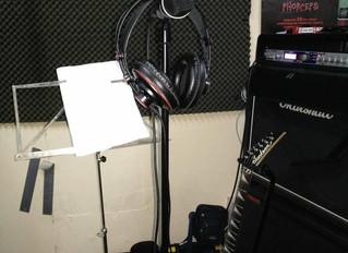 Preparando la nueva grabación