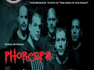 Phorceps en Madrid con Mind´s Doors