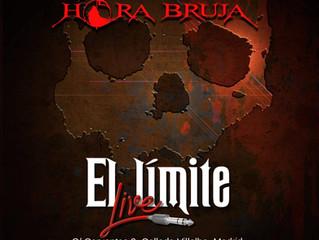 """Phorceps en la Sala """"El Límite Live"""" con Hora Bruja"""