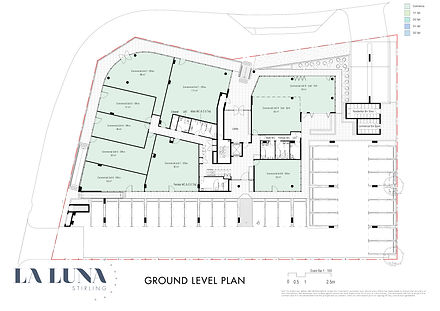 La Luna Floor Plans - new  Ground Level.
