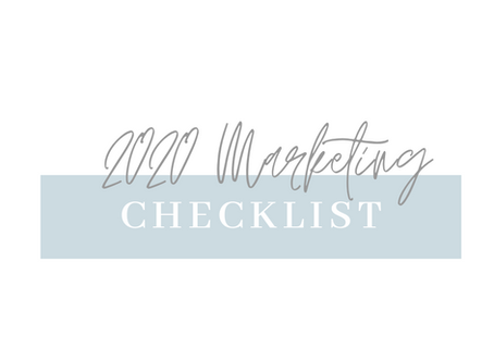 Your Essential Real Estate 2020 Marketing Checklist