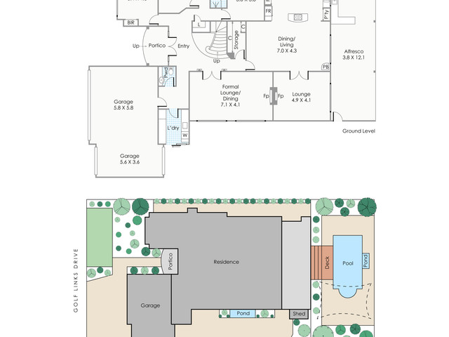Real Estate Floorplans