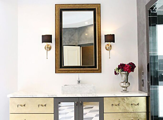 Custom Masterbathroom vanity for our Fort Lauderdale project