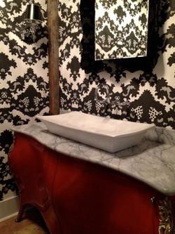 TN Residence-Powder bathroom