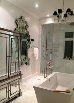 White Marble Bathroom-TN Project