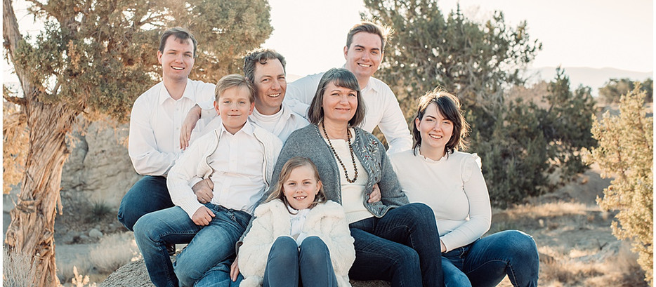 Family Photography Session | Three Peaks | Cedar City, Utah
