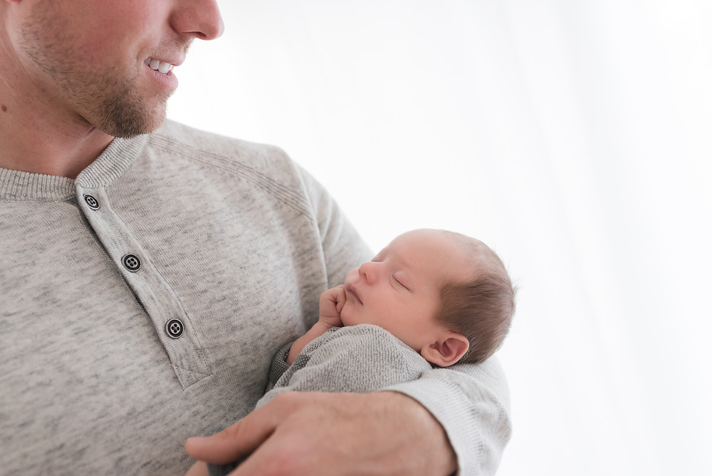 Newborn, Photographer, Family, Dad, baby, Boy