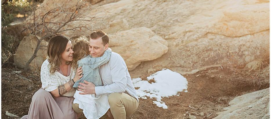 Christ Family Three Peaks   Cedar City Family Photographer
