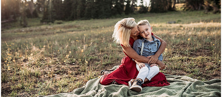 Zerr Motherhood Session | Cedar Breaks, Utah Photographer