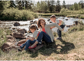 April Family Session | Southern Utah Photographer