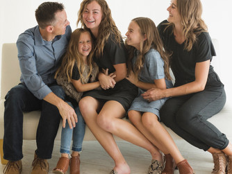 Why Book a Studio Session for Your Family | Cedar City, UT Photographer