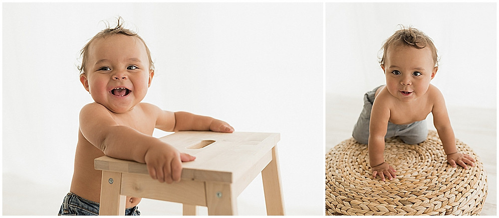 One Year Session, Cake Smash, Milestone, Baby Boy, Photographer, Studio, Cedar City, Utah