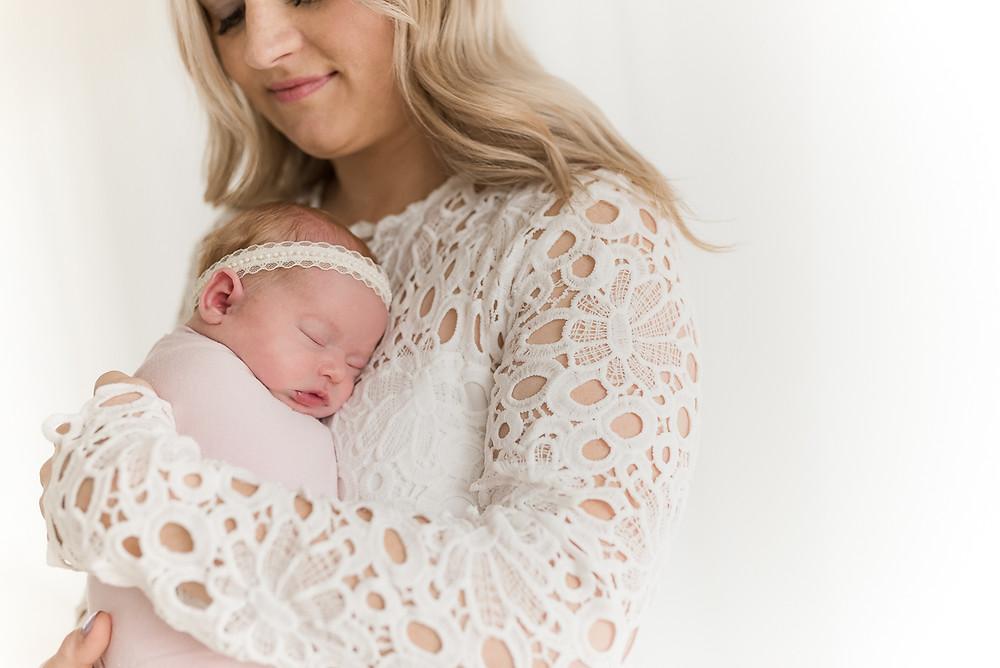 Newborn, Girl, Baby, Mama and Me, Utah, Natural Light STudio, photography studio, Southern Utah, Cedar City, St George