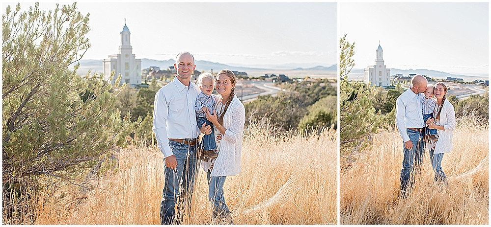 Cedar City Temple, Family Photographer